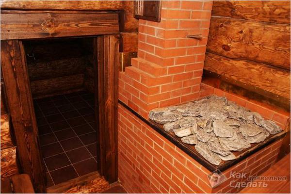 Печь для бани своими руками русская баня 446