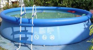 Как установить бассейн на участке