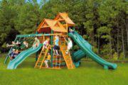 Строим детскую игровую площадку для дачи