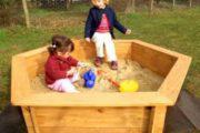 Как сделать песочницу на даче — интересные решения