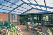 Прозрачный шифер для крыши