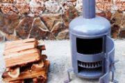 Мини-буржуйка своими руками: на дровах и отработке