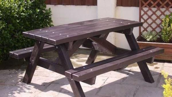 Садовая скамейка для дачи своими руками - 6 проектов 50