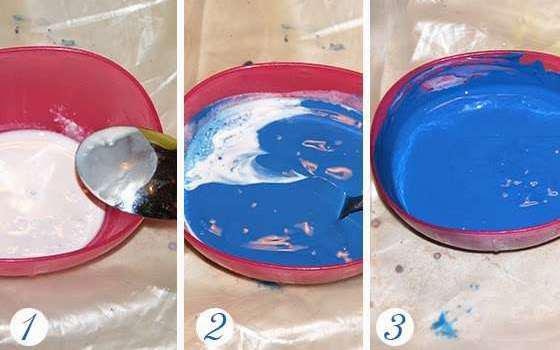 Как сделать краситель своими руками рецепт