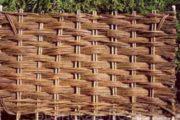 Изгородь из сплетенных прутьев и ветвей: секреты плетения