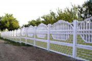 Декоративный забор из бетона: красиво, современно, безопасно