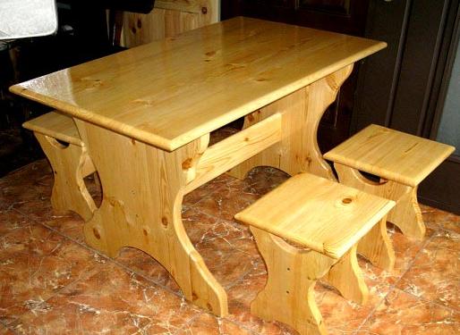Сделать столик из дерева своими руками
