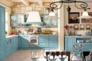 Люстра на кухню в стиле «прованс»