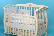 Кроватка-качалка для новорожденных