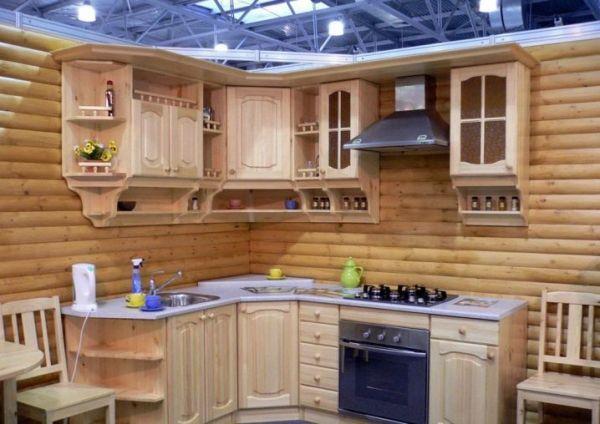 Кухня из щитов своими руками 70