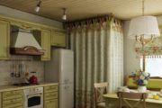 Фартук на кухне в стиле «прованс»