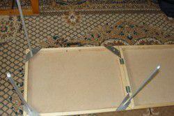 Раскладной походный столик своими руками