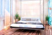 Удобная подвесная кровать своими руками