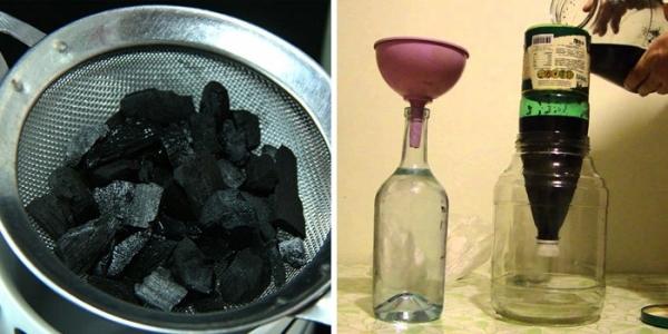 Как сделать уголь для очистки самогона