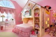 Интерьер современной детской комнаты для девочки
