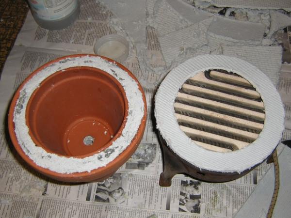 Глиняная плитка своими руками 83