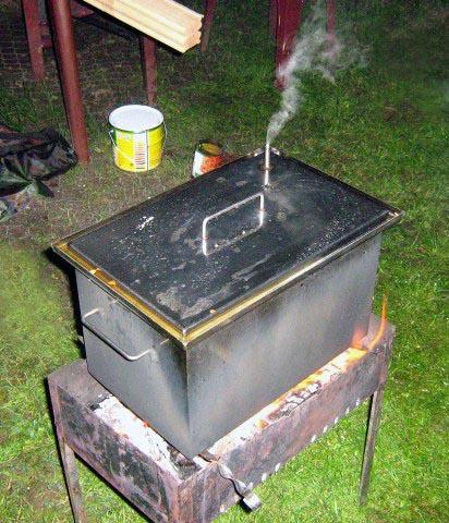 Мини коптильни горячего копчения купить автоматический самогонный аппарат с ректификационной колонной