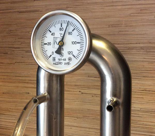 Термометр на самогонном аппарате самогонный аппарат для дачи без проточной воды отзывы